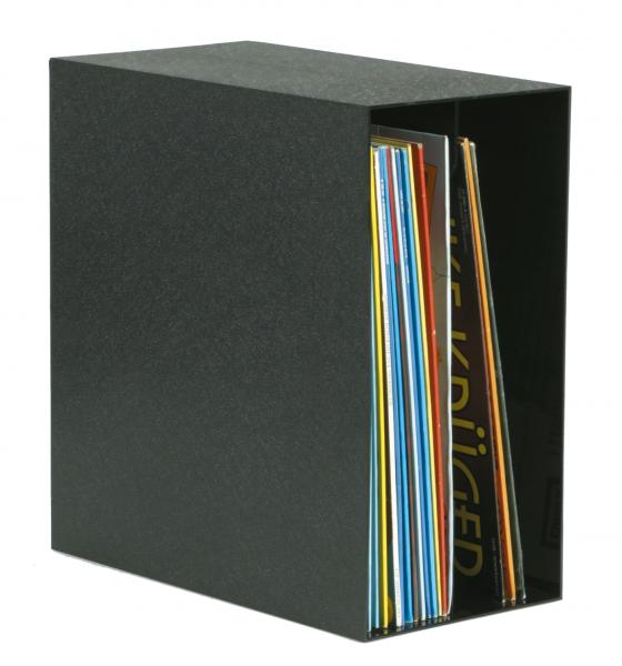 Original Archifix-Box, schwarz für 50 LPs