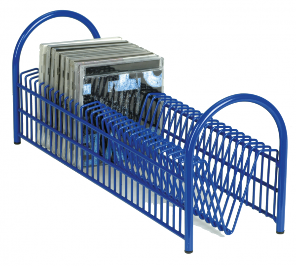 "CD-Rack ""Boogie"" blue for 30 CDs"